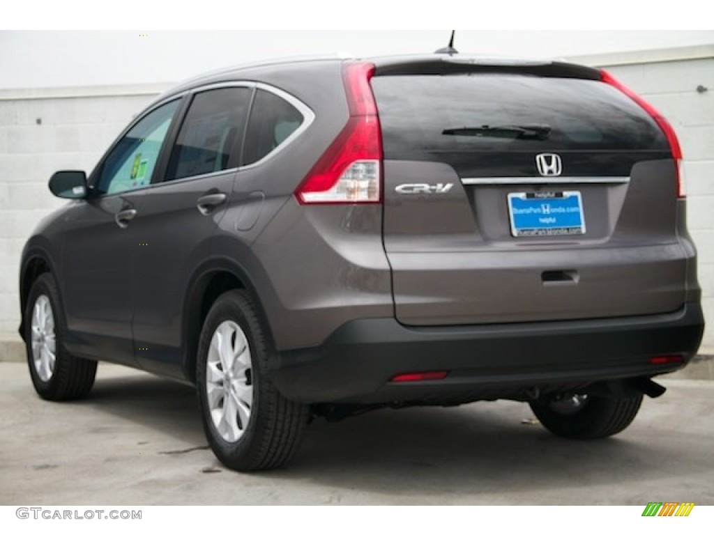 2014 CR-V EX-L - Urban Titanium Metallic / Black photo #2