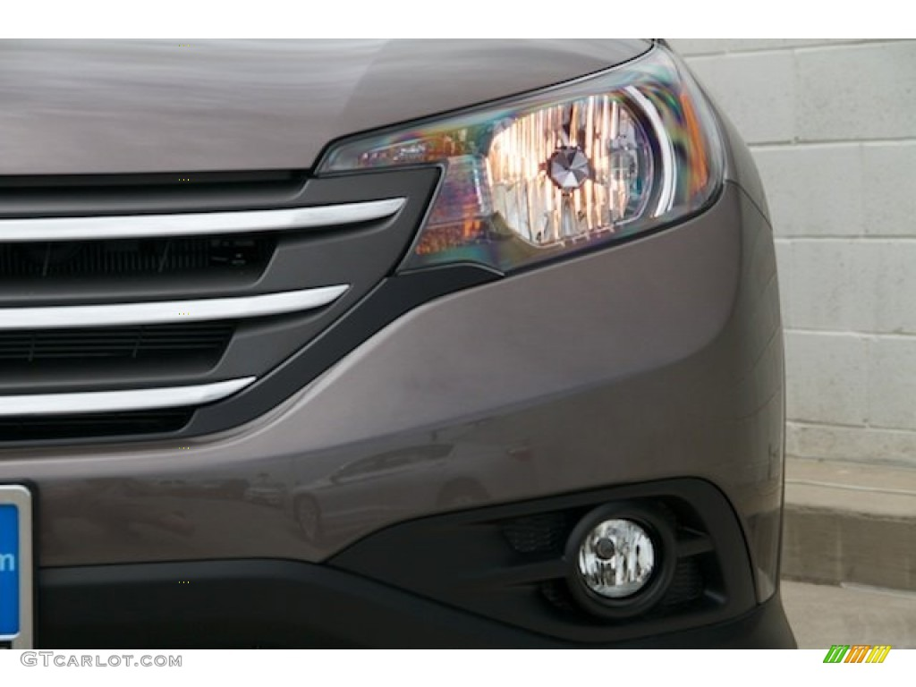 2014 CR-V EX-L - Urban Titanium Metallic / Black photo #4