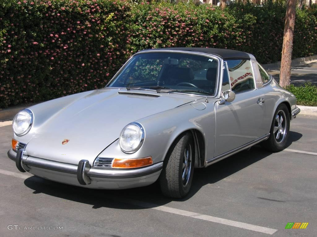 silver 1971 porsche 911 t targa exterior photo 955482. Black Bedroom Furniture Sets. Home Design Ideas