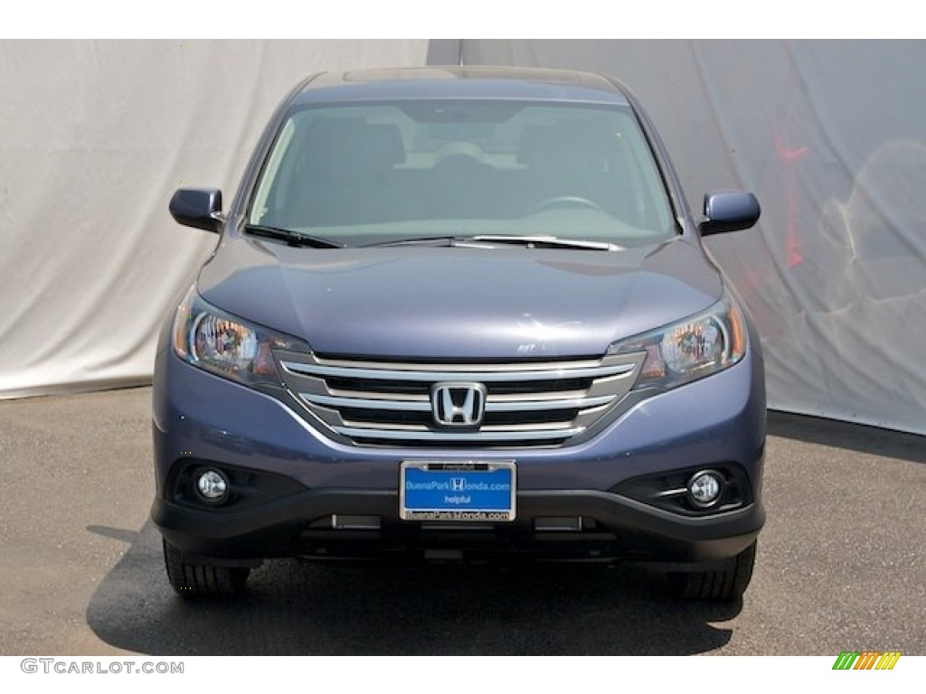 2014 CR-V EX - Twilight Blue Metallic / Gray photo #2