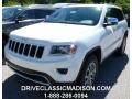 Bright White 2014 Jeep Grand Cherokee Limited 4x4