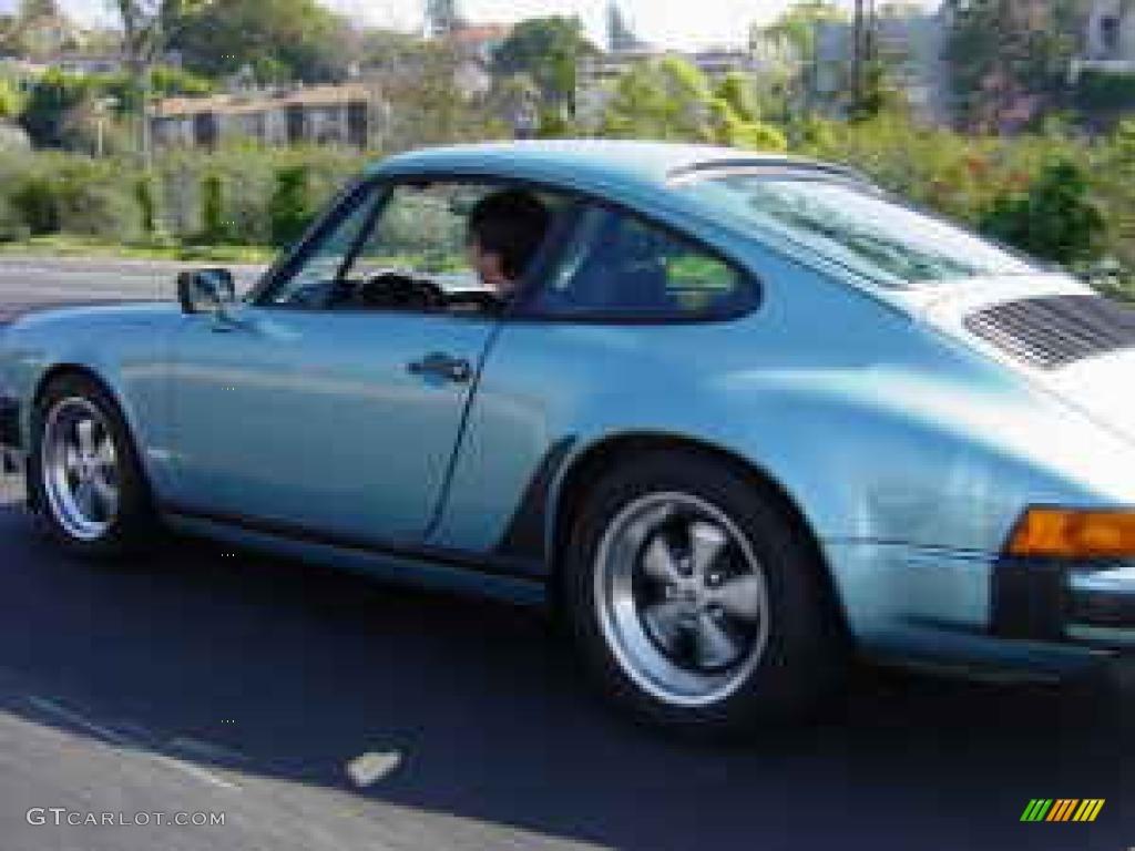 1981 Light Blue Metallic Porsche 911 SC Coupe #924586 | GTCarLot.com on porsche cayenne paint colors, porsche 911 turbo light blue color, porsche paint color chart,