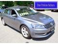 Platinum Gray Metallic 2013 Volkswagen Passat TDI SE