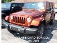 2014 Copperhead Pearl Jeep Wrangler Unlimited Rubicon 4x4 #95583524
