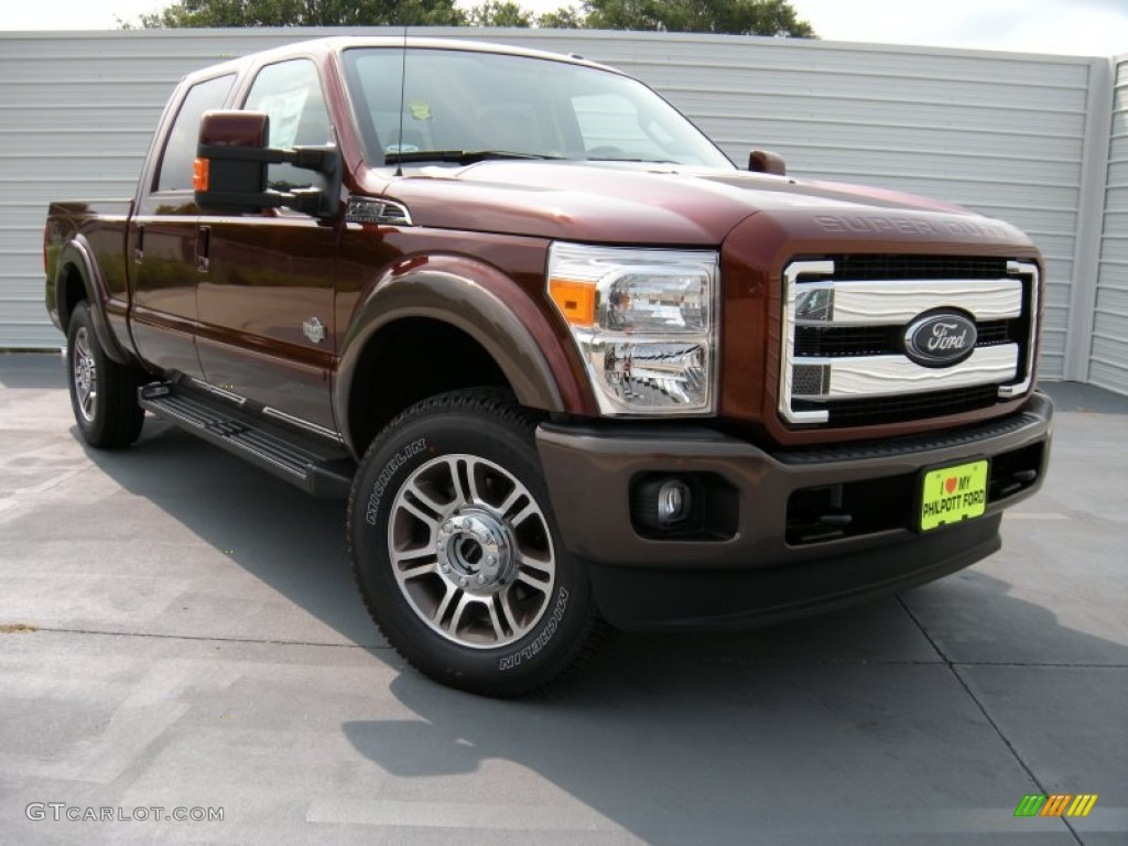 2015 bronze fire ford f250 super duty king ranch crew cab 4x4 95608313 car. Black Bedroom Furniture Sets. Home Design Ideas