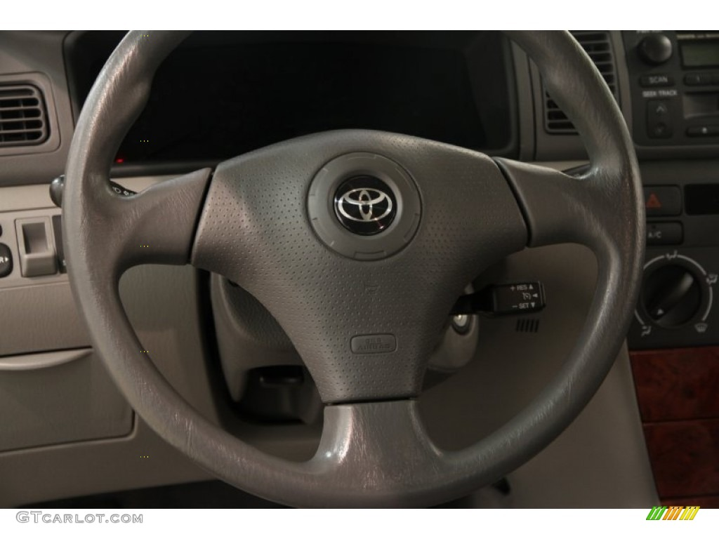 2007 toyota corolla le steering wheel photos. Black Bedroom Furniture Sets. Home Design Ideas