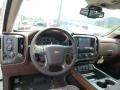 2014 Chevrolet Silverado 1500 High Country Saddle Interior Dashboard Photo