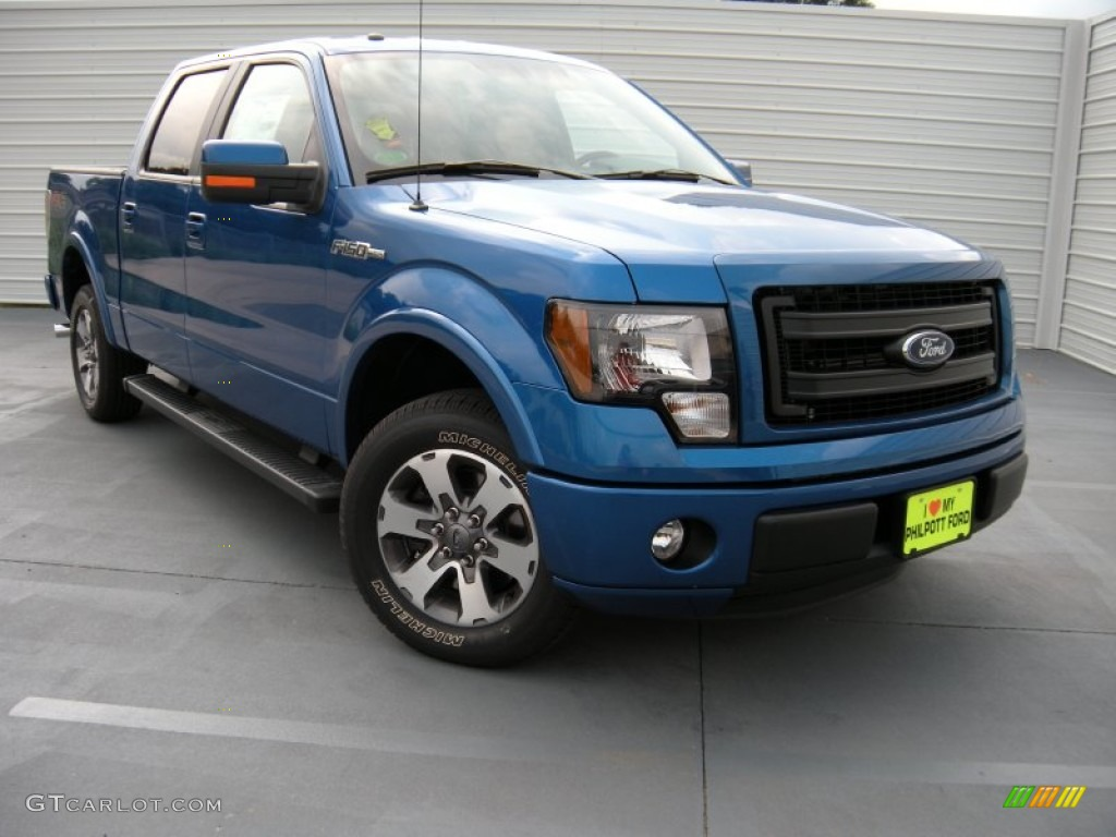 2014 blue flame ford f150 fx2 supercrew 95608305 car color galleries. Black Bedroom Furniture Sets. Home Design Ideas