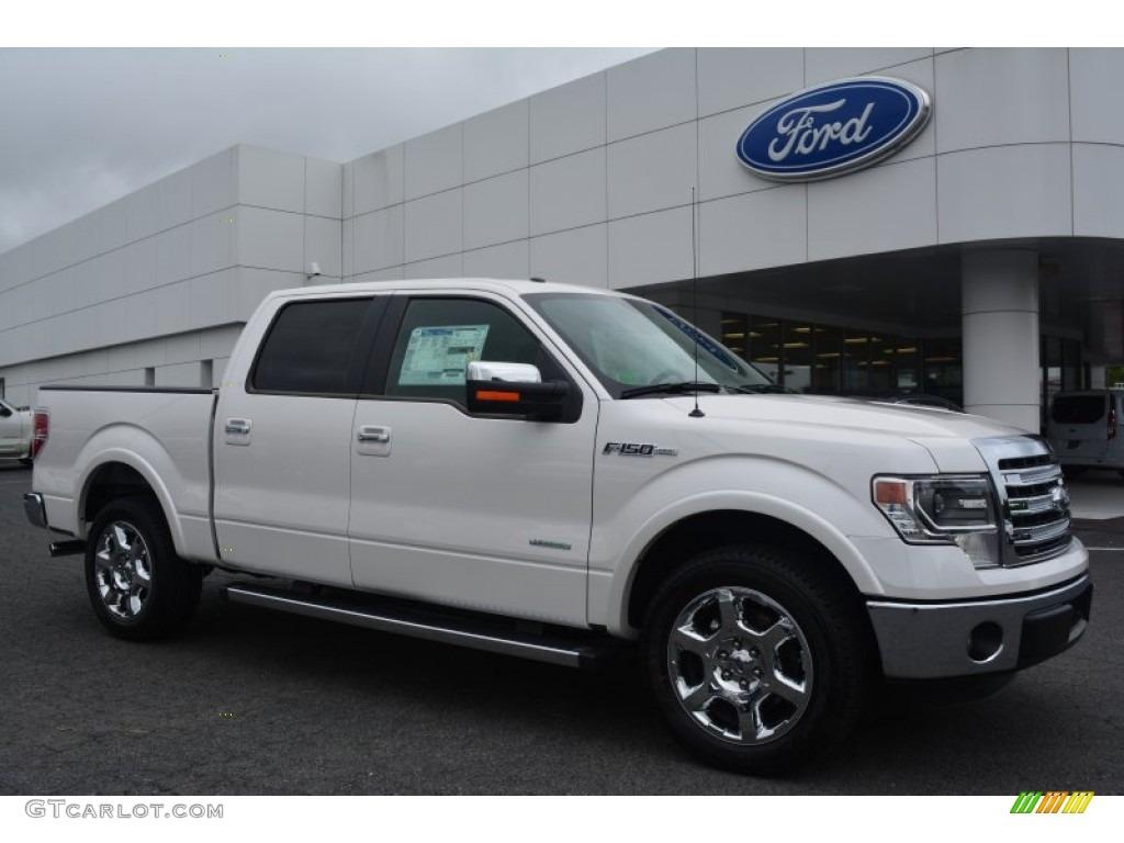 2014 white platinum ford f150 lariat supercrew 95608246 car color galleries. Black Bedroom Furniture Sets. Home Design Ideas