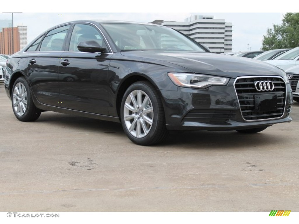 2015 oolong gray metallic audi a6 2 0t premium plus sedan 95608597 car color. Black Bedroom Furniture Sets. Home Design Ideas