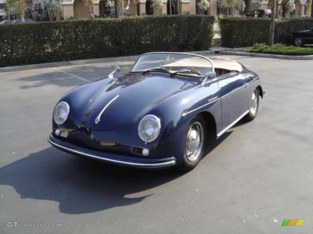 1956 Blue Porsche 356 Speedster Recreation 924555