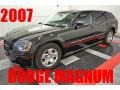 Brilliant Black Crystal Pearl 2007 Dodge Magnum SE