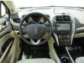 2015 Lincoln MKC White Sands Interior Dashboard Photo