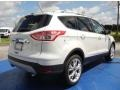 2014 White Platinum Ford Escape Titanium 1.6L EcoBoost  photo #3