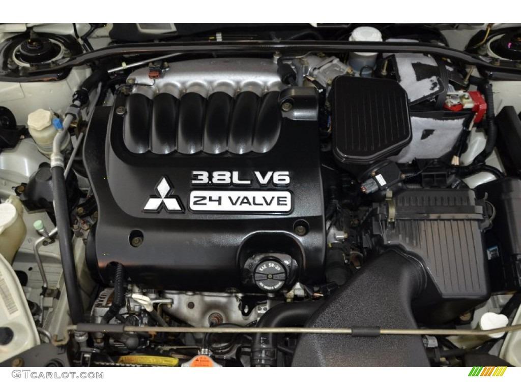 2005 Mitsubishi Galant GTS V6 3.8 Liter SOHC 24 Valve V6 ...