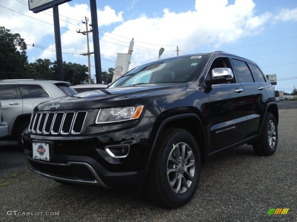 2014 black forest green pearl jeep grand cherokee limited. Black Bedroom Furniture Sets. Home Design Ideas