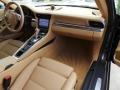 Sand Beige Dashboard Photo for 2012 Porsche 911 #95694447