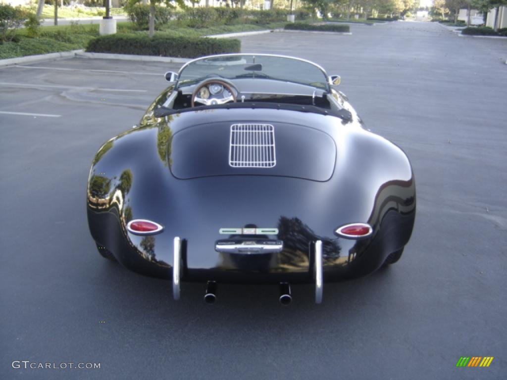 1956 Black Porsche 356 Speedster Gtr Widebody Recreation