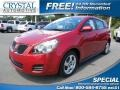 Red Hot Metallic 2009 Pontiac Vibe
