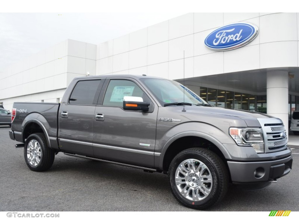 2014 sterling grey ford f150 platinum supercrew 4x4. Black Bedroom Furniture Sets. Home Design Ideas