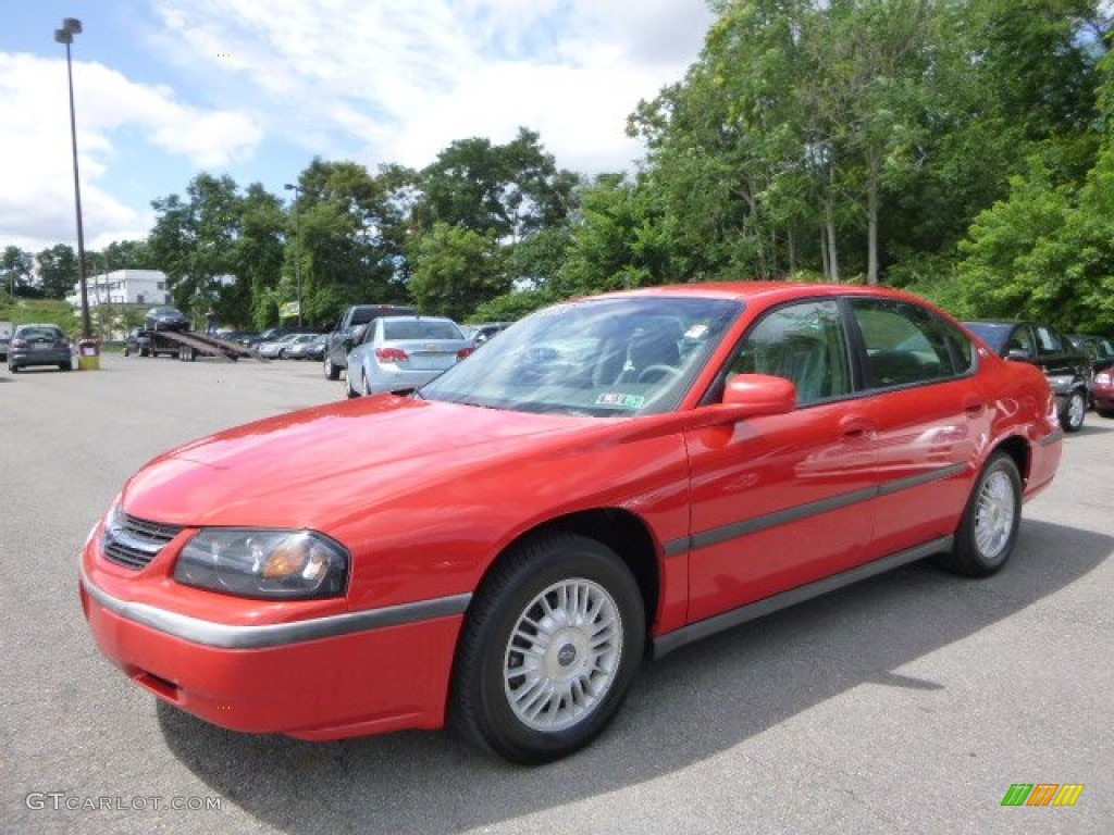 Torch Red Chevrolet Impala