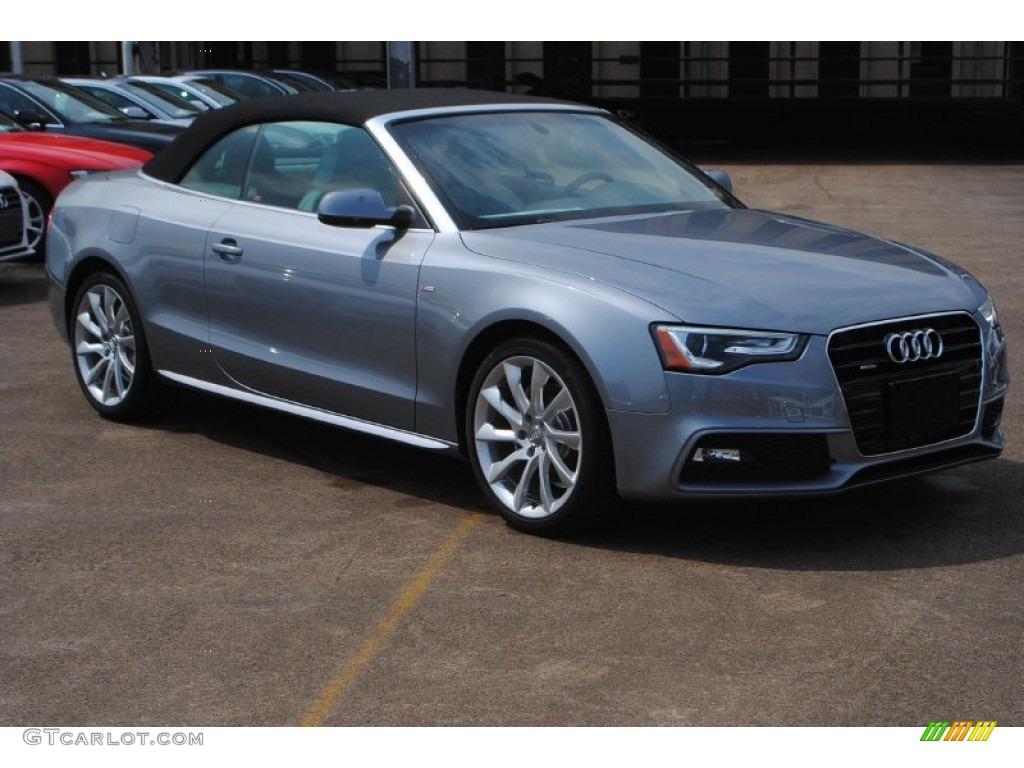 Tornado Gray Metallic 2015 Audi A5 Premium Plus Quattro