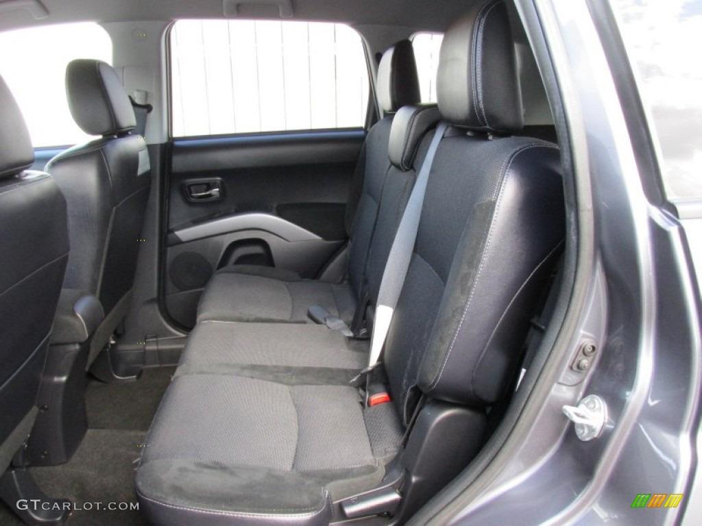 2012 Mitsubishi Outlander SE AWD Interior Color Photos | GTCarLot.com