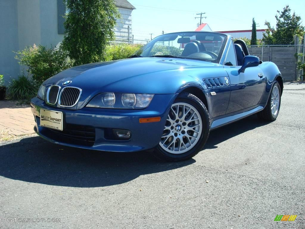 2000 Topaz Blue Metallic Bmw Z3 2 8 Roadster 9553773