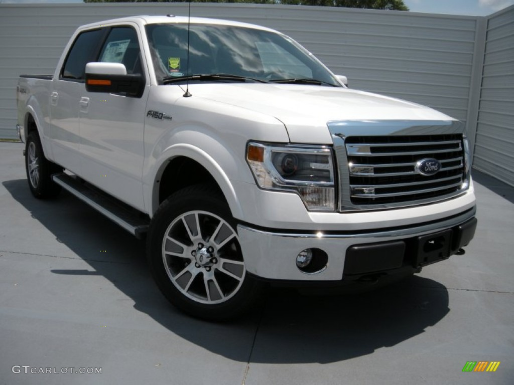 2014 white platinum ford f150 lariat supercrew 4x4. Black Bedroom Furniture Sets. Home Design Ideas