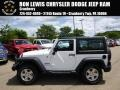 Bright White 2014 Jeep Wrangler Sport 4x4