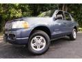 Medium Wedgewood Blue Metallic 2004 Ford Explorer XLT 4x4