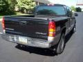2002 Onyx Black Chevrolet Silverado 1500 LS Extended Cab 4x4  photo #37