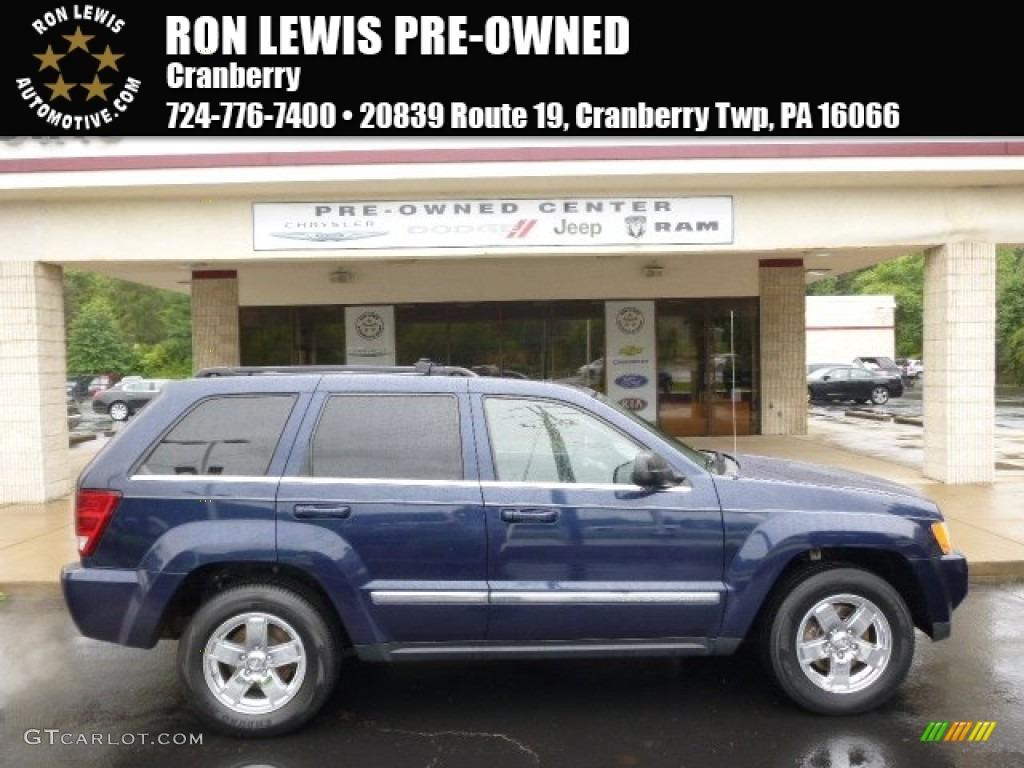 2006 Grand Cherokee Limited 4x4 - Midnight Blue Pearl / Medium Slate Gray photo #1
