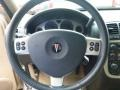 2005 Pontiac Montana SV6 Cashmere Interior Steering Wheel Photo