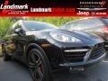 Black 2012 Porsche Cayenne Turbo