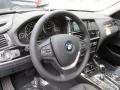 Black Steering Wheel Photo for 2015 BMW X3 #95841695