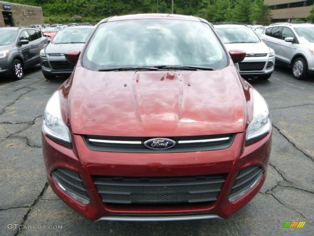 2014 Escape SE 2.0L EcoBoost 4WD - Sunset / Medium Light Stone photo #6