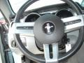 2007 Windveil Blue Metallic Ford Mustang V6 Premium Coupe  photo #17