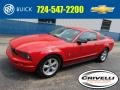 Torch Red 2007 Ford Mustang V6 Deluxe Coupe