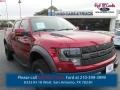 2014 Ruby Red Ford F150 SVT Raptor SuperCrew 4x4  photo #1