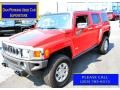 Victory Red 2010 Hummer H3