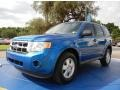 Blue Flame Metallic 2011 Ford Escape XLS