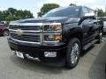2014 Black Chevrolet Silverado 1500 High Country Crew Cab 4x4 #95946024