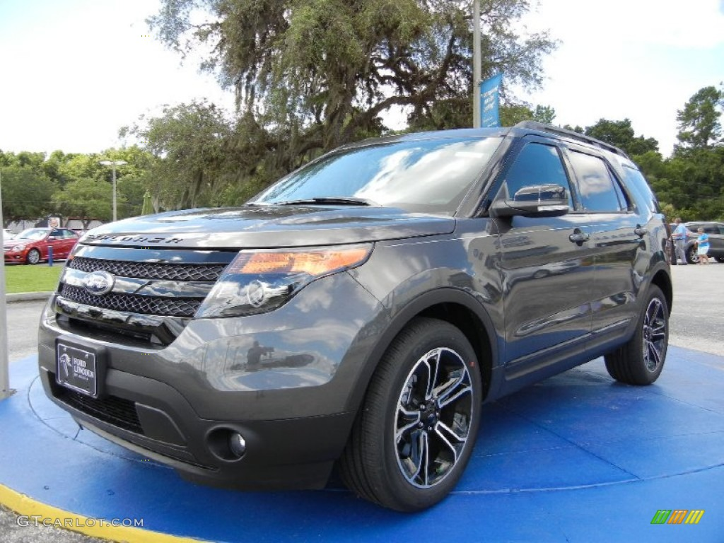 2015 explorer sport 4wd magnetic sport charcoal black photo 1 - New 2015 Ford Explorer Black Color