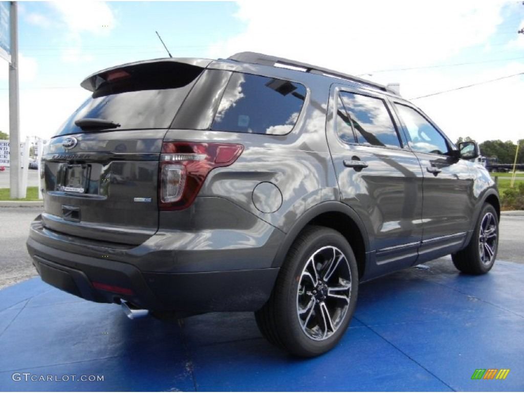 2015 explorer sport 4wd magnetic sport charcoal black photo 3 - Ford Explorer Sport 2015 Magnetic