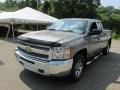 2012 Graystone Metallic Chevrolet Silverado 1500 LS Extended Cab 4x4  photo #11