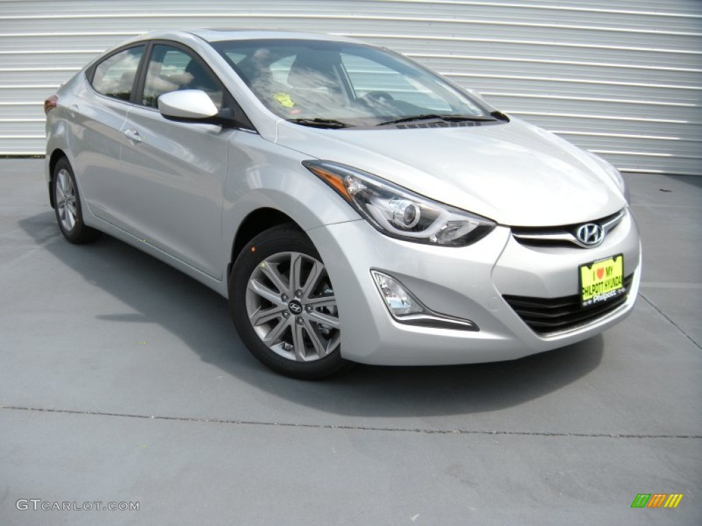 2015 shimmering air silver hyundai elantra se sedan. Black Bedroom Furniture Sets. Home Design Ideas