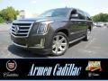 Dark Granite Metallic 2015 Cadillac Escalade ESV Luxury 4WD