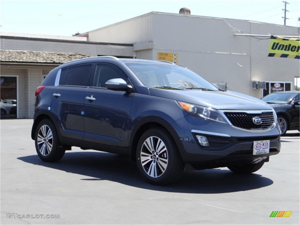 2014 twilight blue kia sportage ex 96045323 car color galleries. Black Bedroom Furniture Sets. Home Design Ideas