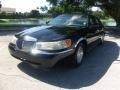 Black Clearcoat 2001 Lincoln Town Car Executive